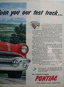 Pontiac 56 Strato Streak 1956 Ad