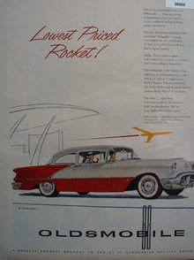 Oldsmobile Rocket 88 1956 Ad