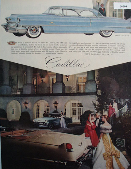 Cadillac 1956 Ad