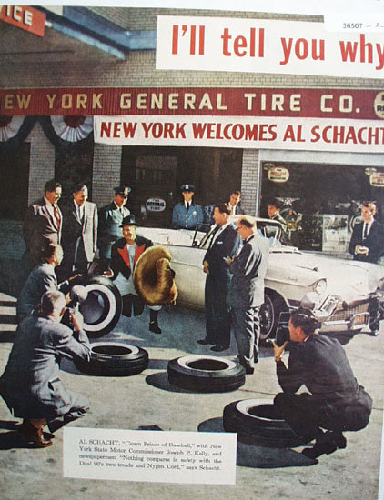 General Dual 90 Tire 1957 Ad