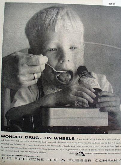 Firestone Tire and Rubber Co. 1957 Ad