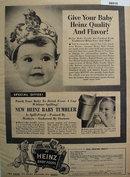 Heinz 57 Baby Foods 1953 Ad