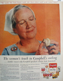Campbells Products 1958 Ad