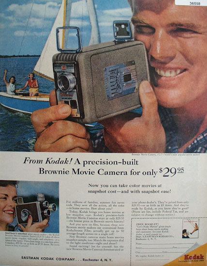 Eastman Kodak Co. 1957 Ad
