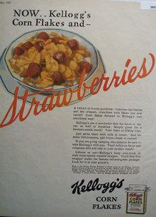 Kelloggs corn Flakes 1927 Ad