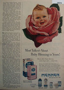 Mennen Baby Magic Skin Care 1953 Ad