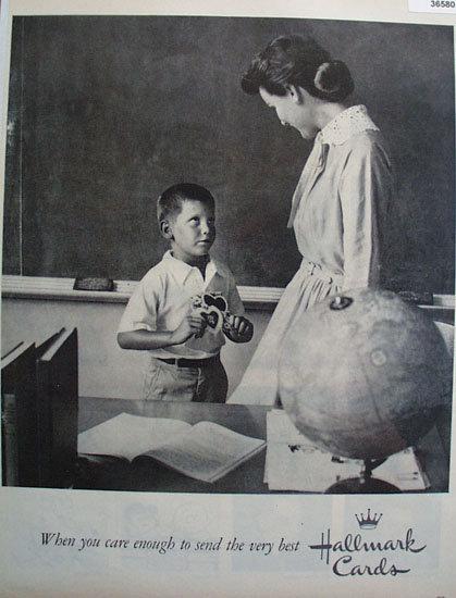 Hallmark Cards 1959 Ad