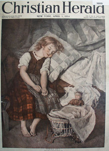 Christian Herald 1914 Magazine Cover