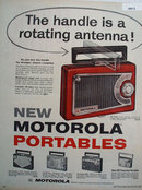Motorola Portable Radio 1956 Ad