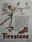Firestone Footwear Co. 1927 Ad.