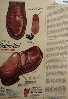 Weather Bird Shoes 1953 Ad