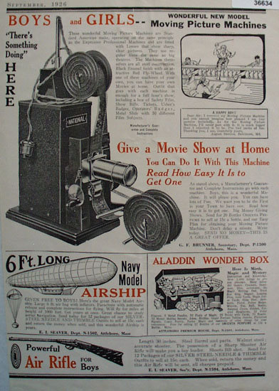 Order by Mail 1926 Ad