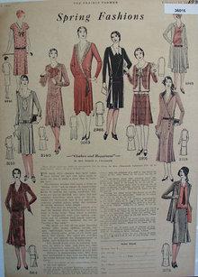 Prairie Farmer Spring Fashions 1930 Ad