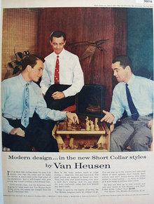 Van Heusen Shirt 1953 Ad