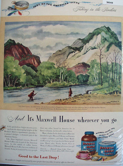 Maxwell House Coffee 1946 Ad