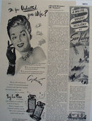 Adrians Sing Her Praises Perfume 1947 Ad