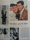 Debbie Reynolds And Eddie Fisher 1955 Article