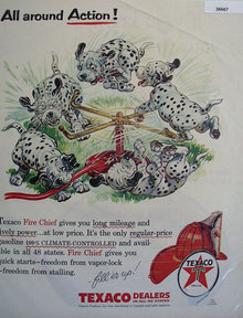 Texaco Products 1956 Ad