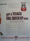 Texaco PT Anti Freeze 1947 Ad