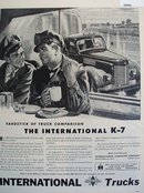 International Trucks 1946 Ad