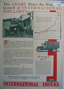 International Trucks 1930 Ad