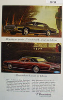Thunderbird by Ford Motor Co. 1967 Ad
