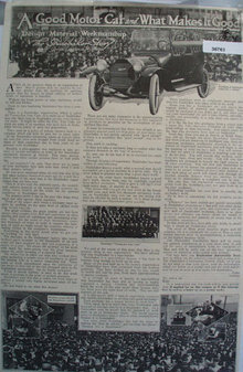 The Studebaker Corp. 1914 Car Ad