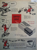 Kleenex Tissues Little Lulu 1950 Ad