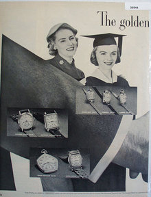 Gruen Precision Watch 1951 Ad
