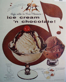 American Dairy Association 1956 Ad