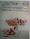 General Foods Jell-O Crown Jewel 1957 Ad