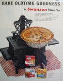 Swanson Frozen Pies 1955 Ad