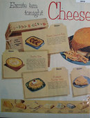 American Dairy Association Cheese Festival 1952 Ad
