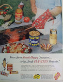 Planters Cocktail Peanuts And Oil 1959 Ad
