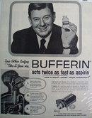 Bristol Myers Bufferin Arthur Godfrey 1956 Ad