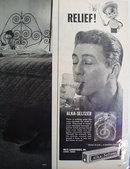 Alka-Seltzer Tablets 1958 Ad