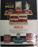 Mele Jewel Case 1961 Ad