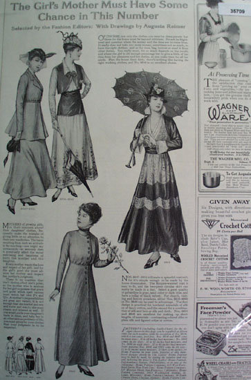 Order By Mail Dress Patterns 1915 Ad