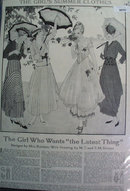 Home Pattern Co. Dress Patterns 1915 Ad