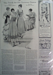 Women Dress Patterns 1915 Ad