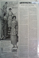 Biberman Brothers Inc. L Aiglon dresses 1920 Ad