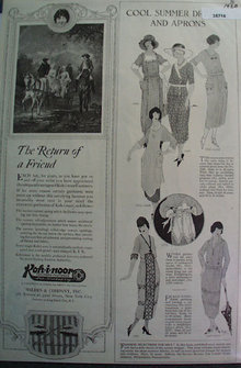 Dresses And Aprons Ladies Home Journal 1920 Ad