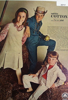 Cotton Producers Institute Sears 1966 Ad