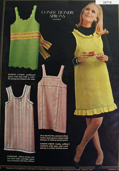 Confectionery Aprons 1966 Ad