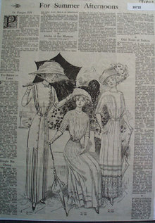 Needlecraft Modes Of The Moment Dress 1911 Ad