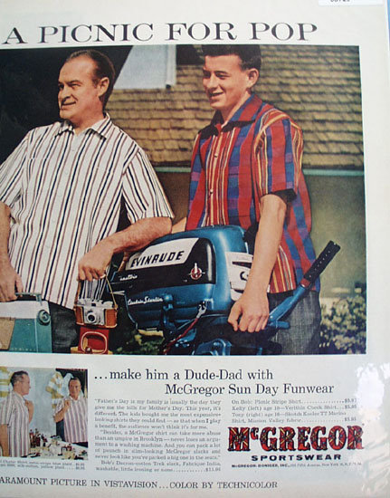 McGregor Sportswear 1956 Ad