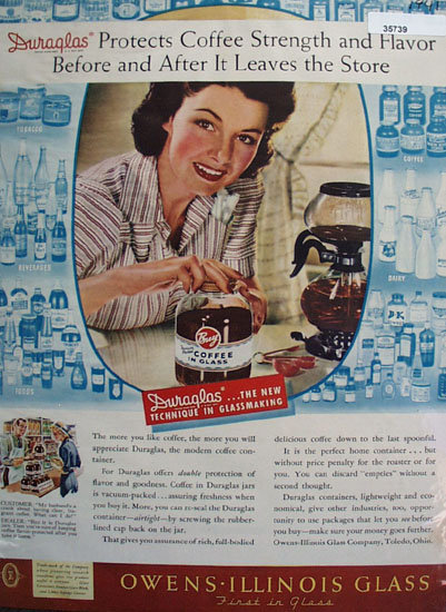 Owens Illinois Glass 1941 Ad
