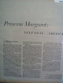 Princess Margaret 1956 Article