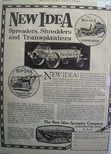 New Idea Spreaders Shredders And Transplanters 1927 Ad