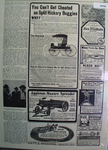 Order By Mail Farm Articles 1905 Ad